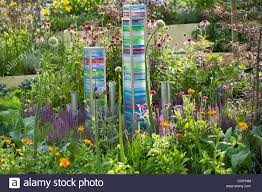 contemporary garden ornaments stock photo royalty free image
