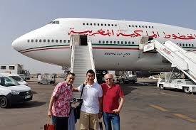 siege business air review royal air maroc business class b747 400 montreal to