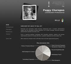 Online Resume Posting by Project Personal Online Resume Peggycharepoo