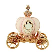 pumpkin carriage cinderella story pumpkin carriage trinket box with