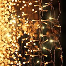 warm white string fairy lights le curtain lights 3x3m 306 leds 8 modes window curtain icicle