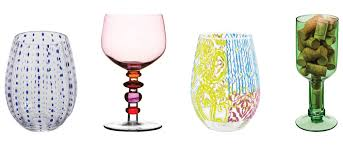 Unusual Wine Glasses by Uncork U0026 Unwind Kansas City Homes U0026 Style