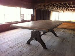 Diy Industrial Dining Room Table Industrial Dining Room Table