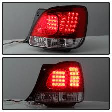 red lexus truck 05 lexus gs300 gs400 led tail lights truck piece red clear