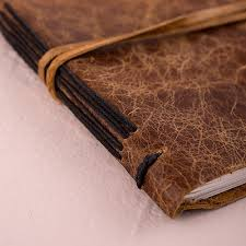 guest book leather bound journal rustic style guest book the knot shop