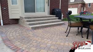 Patio Near Me New Brick Paver Patio With Outdoor Fire Place In Washington Mi 48094