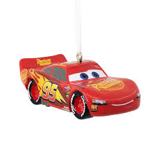 shop hallmark disney pixar lightning mcqueen ornament at lowes