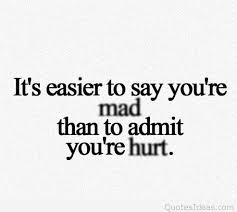 Quote About Angry Sad Quote About