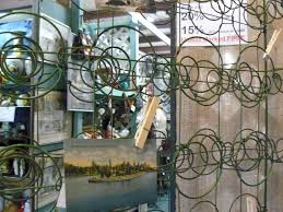 scranberry coop metal bed springs green vintage great for