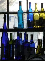 Wine Bottles With Lights North Carolina Bed And Breakfast Is Eco Friendly And Recycles Wine