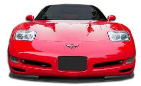 c5 corvette front spoiler 106143 1997 2004 chevrolet corvette c5 duraflex vortex front lip