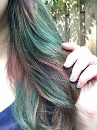 do it yourself oil slick hair u2014 lovelierie