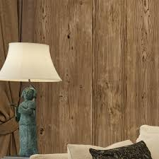3d Wall Panels India Aliexpress Com Buy Haokhome Vintage Faux Wood Panel Wallpaper
