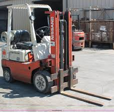 nissan datsun 4000 forklift item h3596 sold june 12 mid