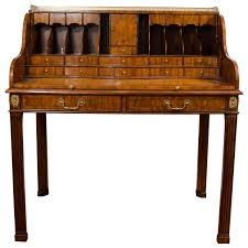 20th century maitland smith desk with leather writing surface at