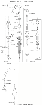 pfister parts kitchen faucet price pfister ashfield series kitchen faucet repair parts