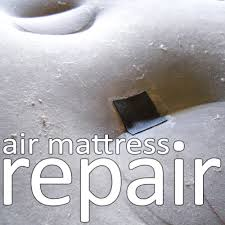How To Make A Round Bed Mattress by Air Mattress Repair 4 Steps With Pictures