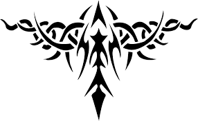 clipart tribal tattoo design