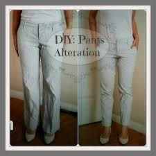 easy diy pants alteration 12 youtube