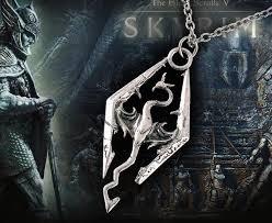dragon necklace skyrim images Skyrim dragonborn steel necklace the dragon shop jpg