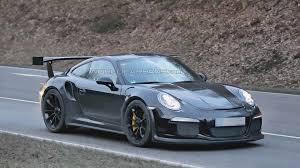 porsche carrera 2015 2015 porsche 911 gt3 rs spied for first time