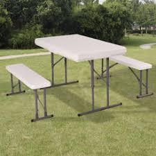 White Folding Table And Chairs Picnic Tables Sears