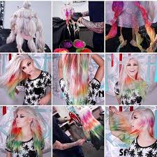 the latest hair colour techniques check out the tie and dye technique the haircut web