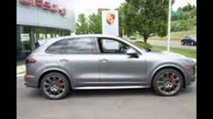 porsche cayenne 2016 colors 2016 porsche cayenne meteor grey metallic youtube