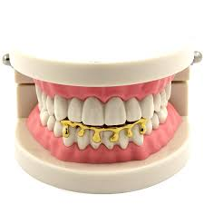 amazon com custom fit 14k gold plated hip hop teeth drip grillz
