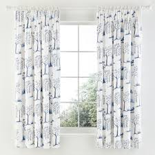 Lined Curtains Sanderson Willow Tree Lined Curtains Set At Bedeck 1951