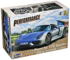 lego porsche 918 amazon com revell porsche 918 spyder model kit toys u0026 games