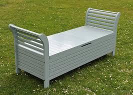 Outdoor Storage Bench Waterproof Lutyens Storage Bench Eau De Nil Garden Project Pinterest