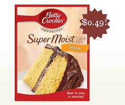 wegmans betty crocker cake mix only 0 49 betty crocker cake