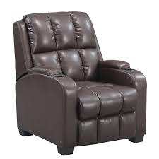 movie chairs for home theaters amazon com dorel living faux leather home theatre recliner
