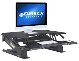 Ergonomic Sit Stand Desk Eureka Ergonomic Standing Desk Offers True Desired Height Adjustments