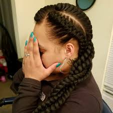 hairstyles ideas two goddess braids hairstyles with weave