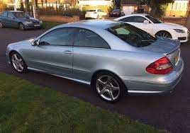 cheap amg mercedes for sale mercedes clk 220 cdi amg sport low 84k automatic silver