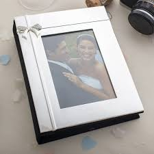 engraved photo albums engraved photo album with ribbon engraved gifts by