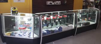 merchandise display case retail display showcases u0026 trophy cases m fried
