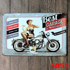 lady best garage metal ad sign vintage tin signs decorative