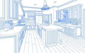 Kitchen Design Sketch House Sketch Pictures Images And Stock Photos Istock
