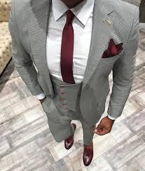 grey 3 piece suit jacket vest u0026 pants u2013 gentlemen u0027s crate