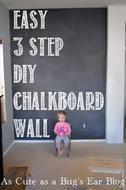 best 25 chalkboard wall bedroom ideas on pinterest chalkboard easy 3 step diy chalkboard wall