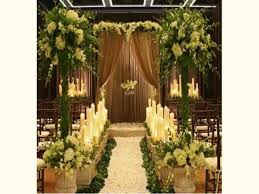 wedding arches in church church wedding decoration 2015