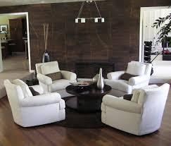 white living room with dark wood floors centerfieldbar com
