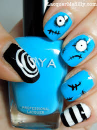 cute halloween nails nail art style coraline nail art nail art stregatto di tim burton