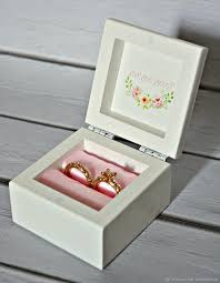 box rings images Box for wedding rings quot rose quot shop online on livemaster with jpg