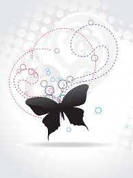 butterfly silhouette vectors photos and psd files free