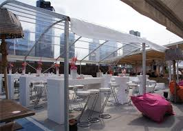 Transparent Tent 15m 50m Transparent Canopy Clear Party Event Tent For Over 300