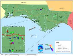 Fl County Map Northwest Florida Land Trails